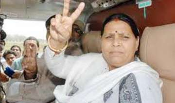rabri devi set to say good bye to politics -...