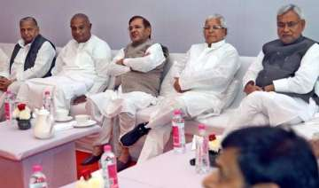 nitish kumar in delhi today to speed up talks for...