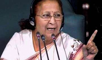 was compelled to take stringent action sumitra...
