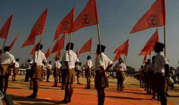 britishers tinkered with vedas on beef eating rss...