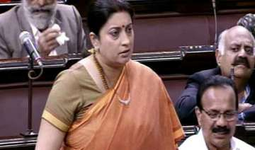 smriti irani defends durga remark refuses to...