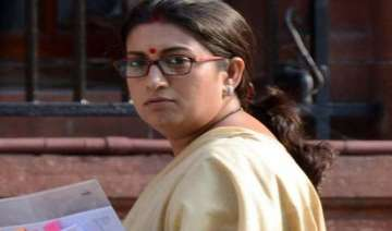 court to consider complaint against smriti irani...