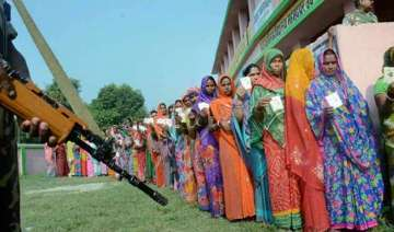 bihar polls record voter turnout adds to...