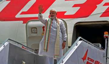 pm narendra modi leaves for uae on two day visit...
