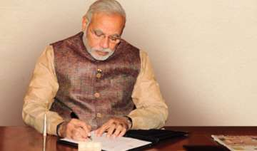 pm modi writes an open letter on completion of 1...