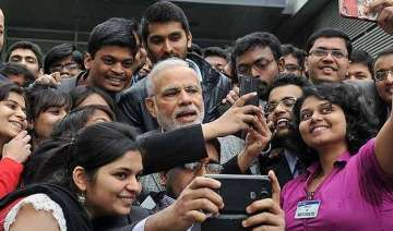 pm modi is most accessible politician on internet...