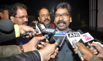 hemant soren accuses bjp of crushing tribal...
