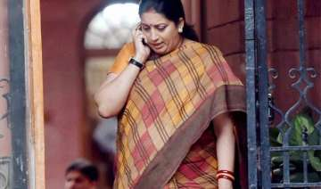 congress rejects irani s allegations on amethi...