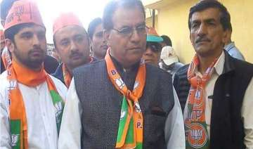 bjp alleges govt inaction against youth congress...