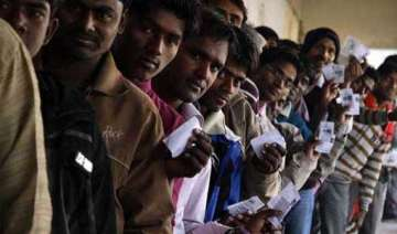 61.08 pc voter turnout in 4th phase of jharkhand...