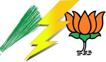 delhi polls aap members who joined bjp to face...