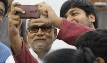 once shy nitish kumar takes to social media with...
