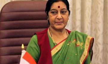 keeping up connect with arab world sushma swaraj...