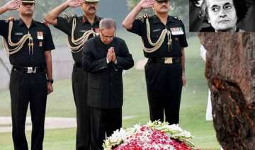 nation pays tribute to indira gandhi on her 31st...