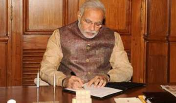pm modi to review implementation status of...