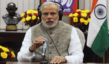 pm modi to address eighth edition of mann ki baat...