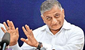 vk singh becomes butt of sarcasm in lok sabha...