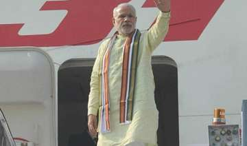 pm modi heads home after three nation tour -...