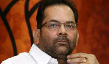 bjp leader naqvi held guilty for poll code...