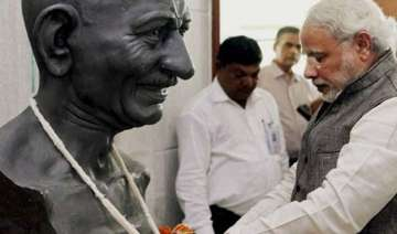 mahatma gandhiji s ideals are extremely relevant...
