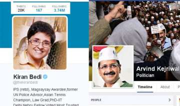 kiran vs kejriwal the lady leads on twitter while...