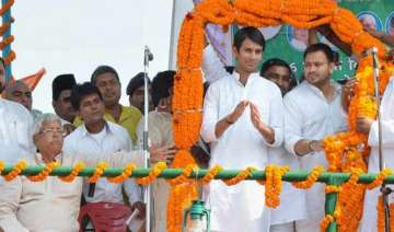 bihar polls lalu s younger son is older than...