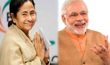 bitter rivals modi and mamata meet exchange...