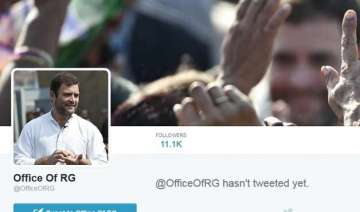 congress scion rahul gandhi comes on twitter -...