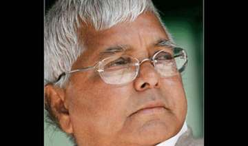 bjp flays lalu for his remarks against upper...