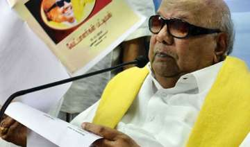 karunanidhi re elected as dmk chief for 11th time...