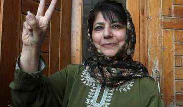 mehbooba mufti to meet j k guv today bjp pdp...