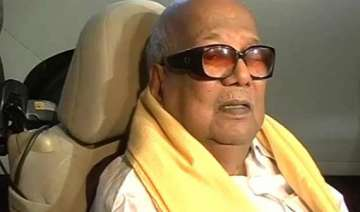 no place for disabled like me says karunanidhi...