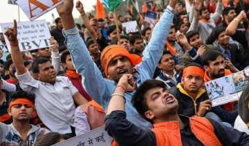 jnu row three abvp members resign over government...