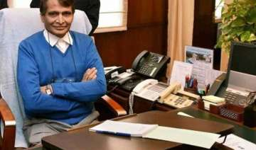railway minister suresh prabhu to flag off three...