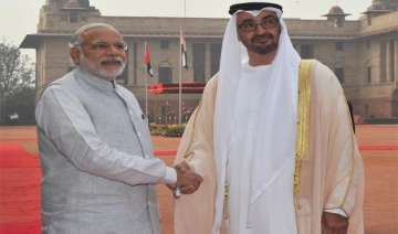 crown prince of abu dhabi accorded ceremonial...