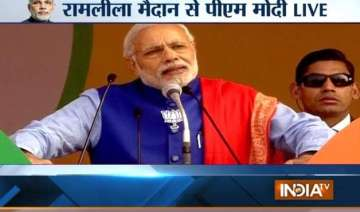 narendra modi targets kejriwal says delhi doesn t...