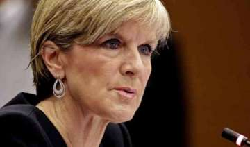 aussie foreign minister in india for talks -...