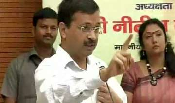 kejriwal accuses centre of gundagardi asks modi...