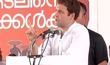 rahul gandhi vows to fight for fishermen s rights...