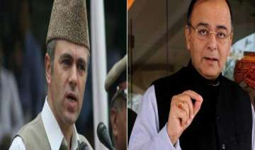 jaitley has one on one meeting with omar - India...