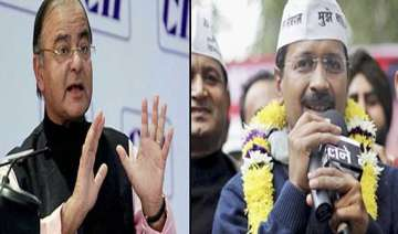 jaitley hit outs at kejriwal for media comments -...