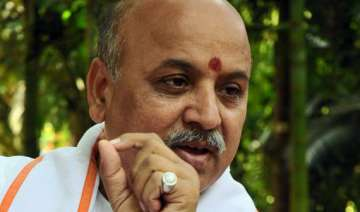 joshi s exit loss to bjp claims praveen togadia -...