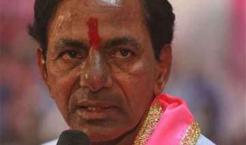 kcr vows to make telangana a model state root out...