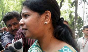 kanimozhi d raja maitreyan elected to rs from...