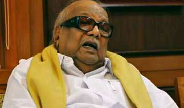 karunanidhi backs chidambaram - India TV