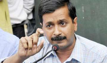 kejriwal alleges his flat s power connection cut...