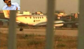 kejriwal travels by chartered plane - India TV