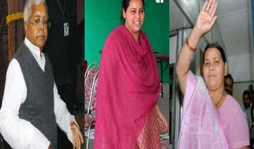 lalu prasad s wife daughter in rjd s first list...
