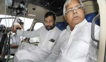 lalu paswan will continue to hanker for berths...