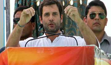 live reporting rahul says bjp works for rich...